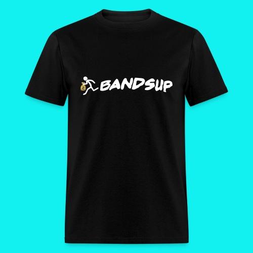 (Black) Male // Running Money Man // Bands Up - Men's T-Shirt