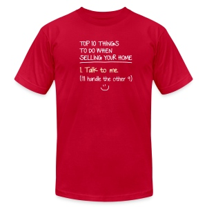 Top 10 Things to do When Selling Your Home - Men's Fine Jersey T-Shirt