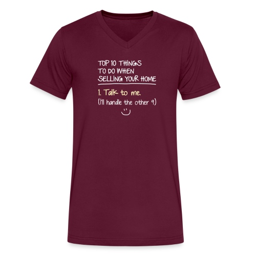Top 10 Things to do When Selling Your Home - Men's V-Neck T-Shirt by Canvas