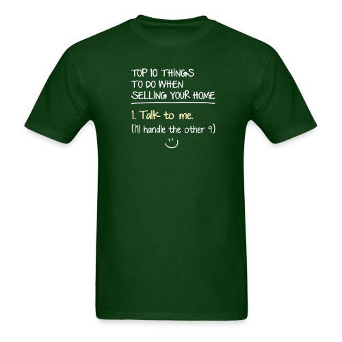 Top 10 Things to do When Selling Your Home - Men's T-Shirt