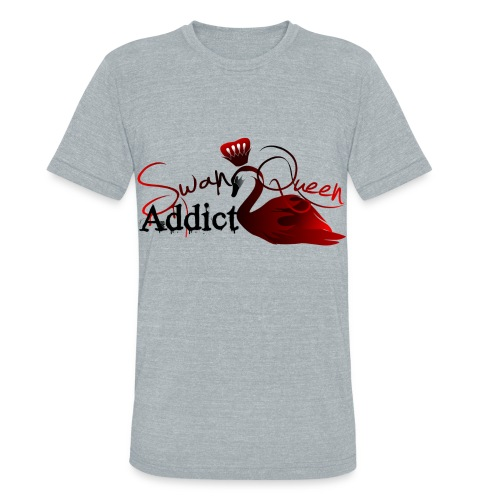 SWAN QUEEN ADDICT - Unisex Tri-Blend T-Shirt