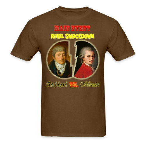 Salieri vs Mozart - Men's T-Shirt