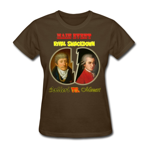 Salieri vs Mozart - Women's T-Shirt
