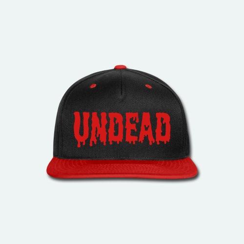 Undead - Snap-back Baseball Cap