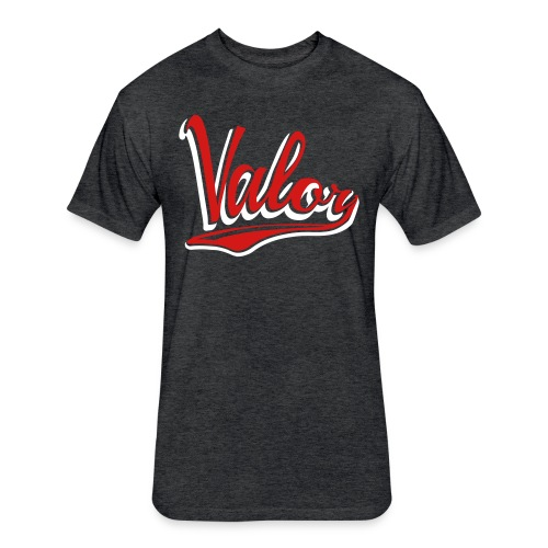 Valor Baseball Men's Tee - Fitted Cotton/Poly T-Shirt by Next Level