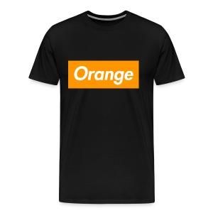 Orange Box Tshirt - Men's Premium T-Shirt
