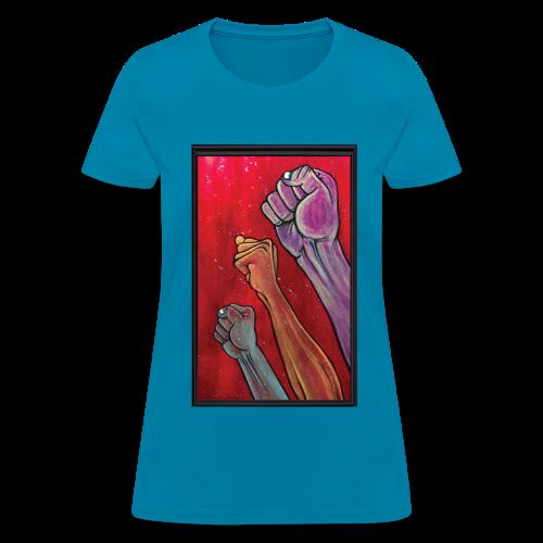 Still I Rise by Sherwin Long - Women's T-Shirt