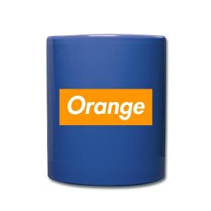 Orange Box Mug - Full Color Mug