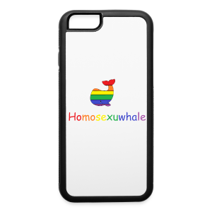 Homosexuwhale  - iPhone 6/6s Rubber Case