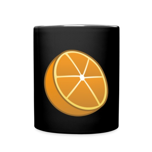 Cut Orange Mug - Full Color Mug