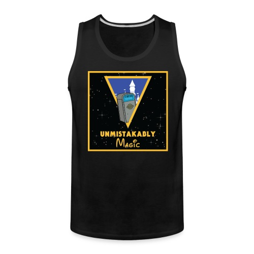 Men's Castle Logo Tank - Men's Premium Tank
