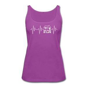 Real Estate is Life - Women's Premium Tank Top