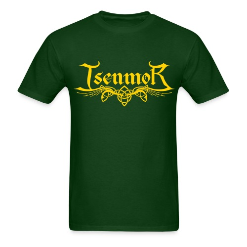 Isenmor Logo Shirt (Green/Gold) - Men's T-Shirt