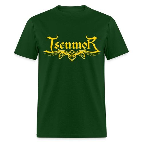 Isenmor Logo Shirt (Green/Gold) - Men's T-Shirt