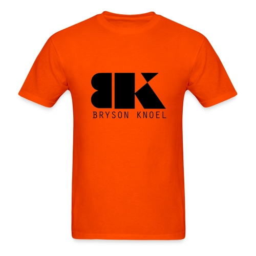 Bryson Knoel Logo Orange T-Shirt - Men's T-Shirt