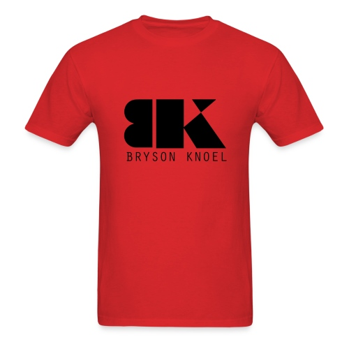 Bryson Knoel Logo Red T-Shirt - Men's T-Shirt
