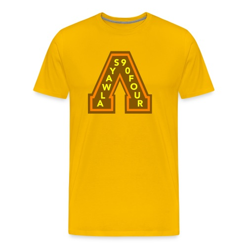 Always a Champion Gold set - Men's Premium T-Shirt