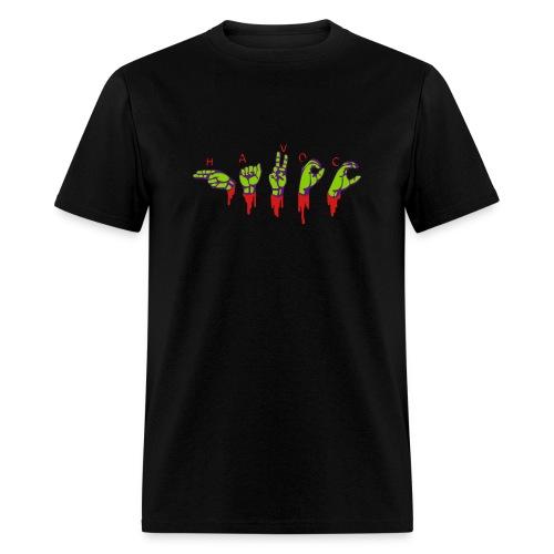 havoc hands! - Men's T-Shirt