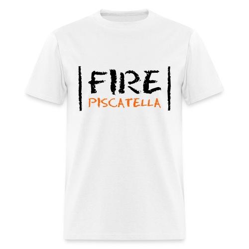 Fire Piscatella - Men's T-Shirt