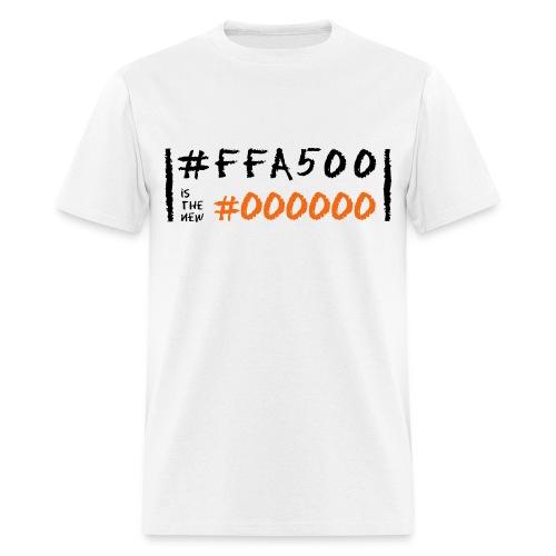 Orange is the New Black in Code - Men's T-Shirt