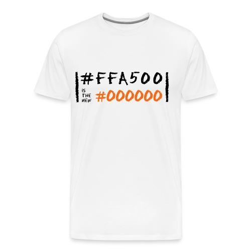 Orange is the New Black in Code - Men's Premium T-Shirt