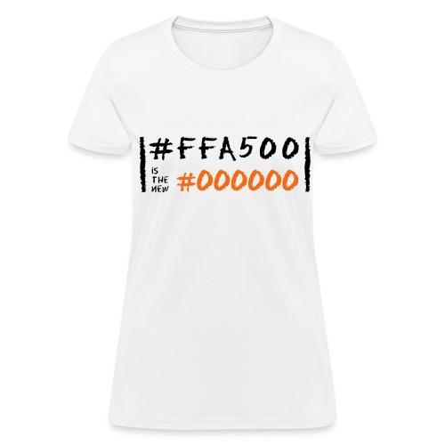 Orange is the New Black in Code - Women's T-Shirt