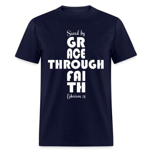 Grace through faith - Men's T-Shirt