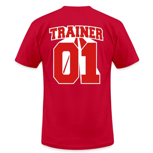 Red Trainer Men's Tee - Men's Fine Jersey T-Shirt