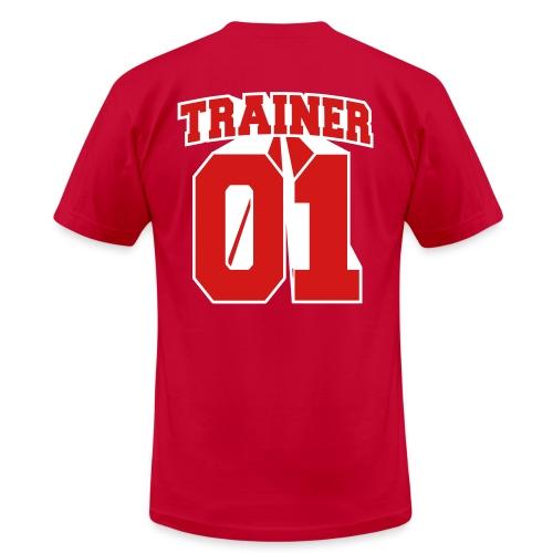 Red Trainer Men's Tee - Men's Fine Jersey T-Shirt