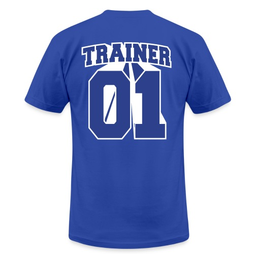 Blue Trainer Men's Tee - Men's Fine Jersey T-Shirt