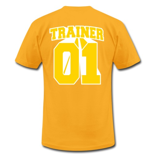 Yellow Trainer Men's Tee - Men's Fine Jersey T-Shirt