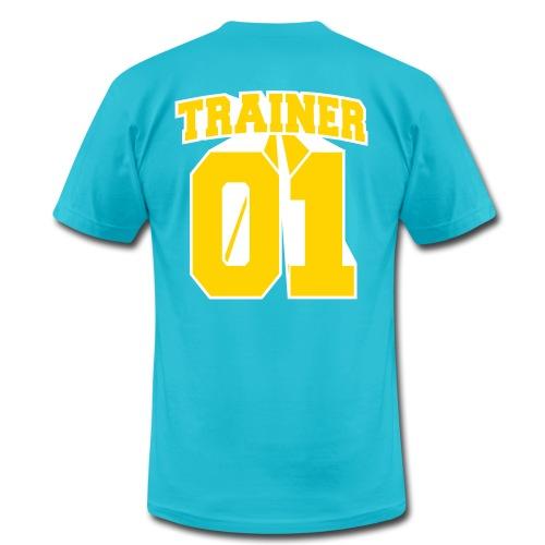 Yellow Trainer Men's Tee - Men's Fine Jersey T-Shirt