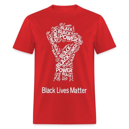 Limited Edition - BLM Powerfist - Men's T-Shirt