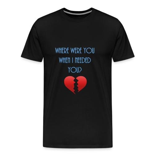 Broken heart t-shirt - Men's Premium T-Shirt