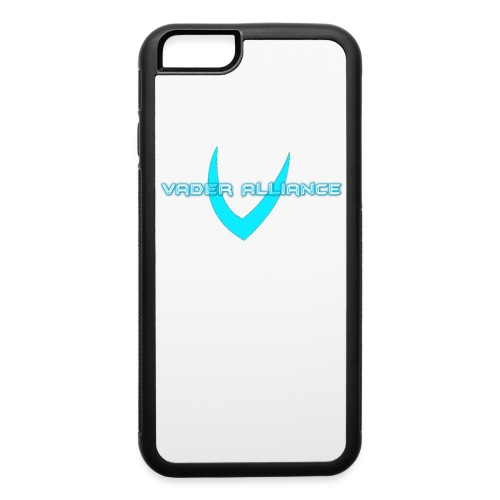 White iPhone Case With Blue Vader Alliance Logo - iPhone 6/6s Rubber Case