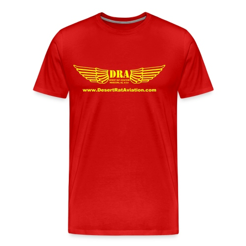dra_wings_yellow - Men's Premium T-Shirt