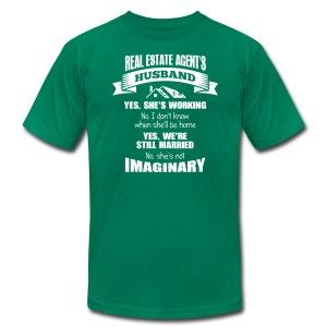 Real Estate Agent's Husband - Men's Fine Jersey T-Shirt