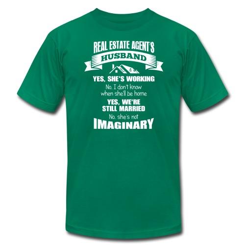 Real Estate Agent's Husband - Men's  Jersey T-Shirt
