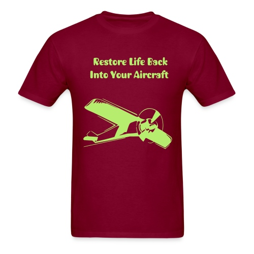 High wing airplane - Men's T-Shirt