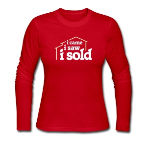 I Came I Saw I Sold - Women's Long Sleeve Jersey T-Shirt