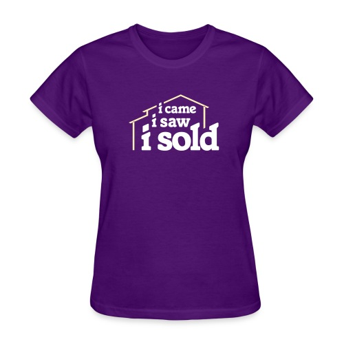 I Came I Saw I Sold - Women's T-Shirt