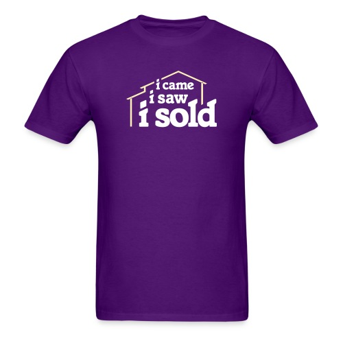 I Came I Saw I Sold - Men's T-Shirt