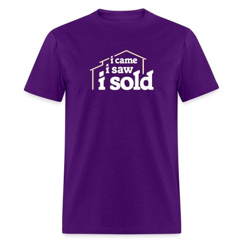 I Came I Saw I Sold - Men's T-Shirt