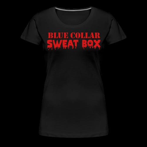 Ladies' The Sweat Box Tee - Women's Premium T-Shirt