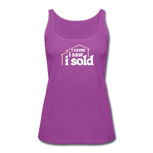 I Came I Saw I Sold - Women's Premium Tank Top