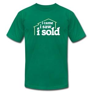 I Came I Saw I Sold - Men's Fine Jersey T-Shirt