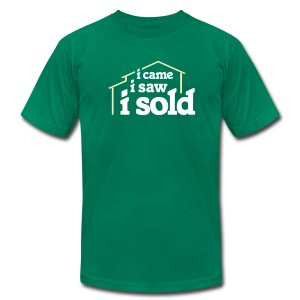 I Came I Saw I Sold - Men's T-Shirt by American Apparel