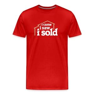 I Came I Saw I Sold - Men's Premium T-Shirt