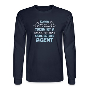 This Guy is Already Taken - Men's Long Sleeve T-Shirt
