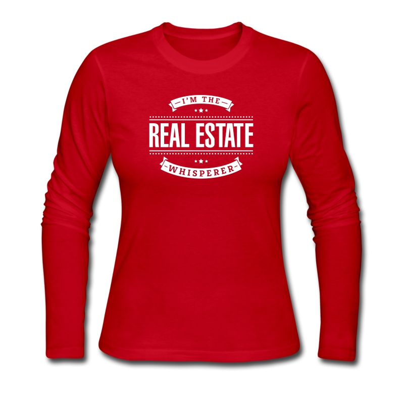 I'm The Real Estate Whisperer - Women's Long Sleeve Jersey T-Shirt